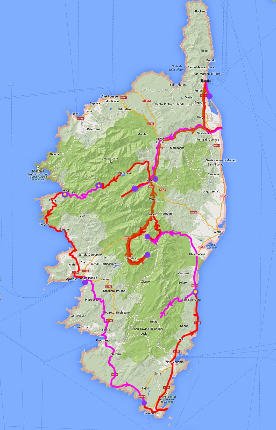 Korsika Po 16 Letech 2013